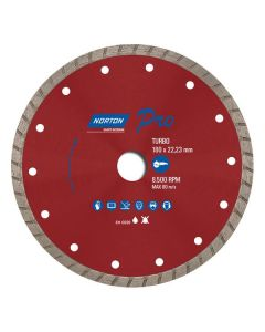 Disco Diamantado Pro Turbo 180x22mm