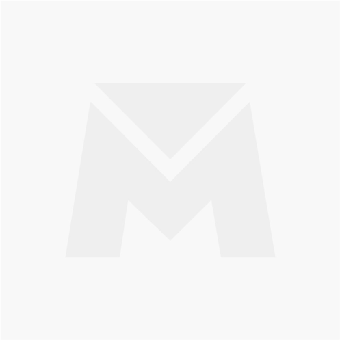 Caixa de Correio em Polipropileno Branca e Prata 255x170mm